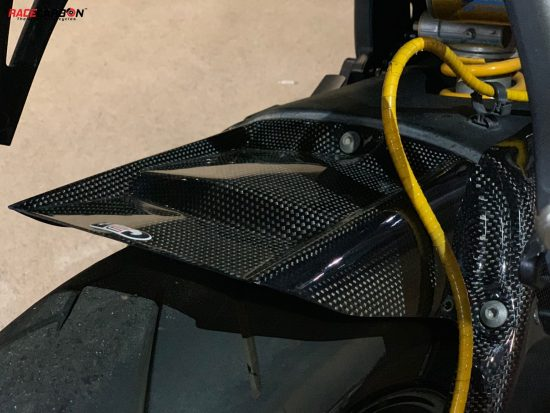 YAMAHA YZF-R6 2006-2019 Carbon Fiber Rear Hugger