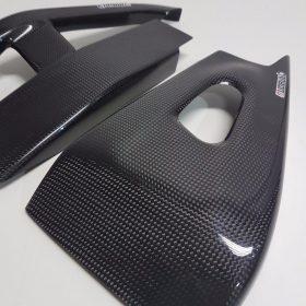 HONDA CBR 600RR 2005-2006 Carbon Fiber Swingarm Covers 4