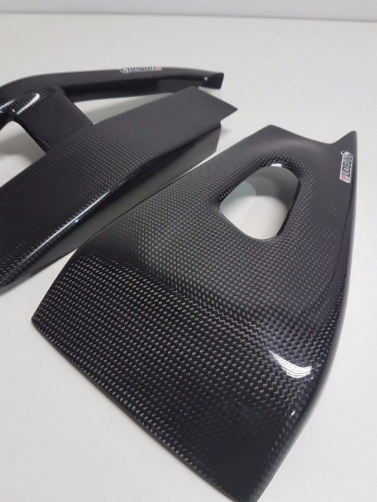 HONDA CBR 600RR 2005-2006 Carbon Fiber Swingarm Covers 4