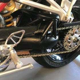 DUCATI Monster S2R/S4R Carbon Fiber Chain Guard