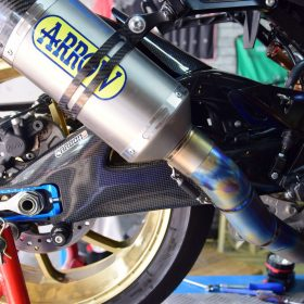 SUZUKI GSXR 1000 2017-2019 Carbon Swingarm Covers