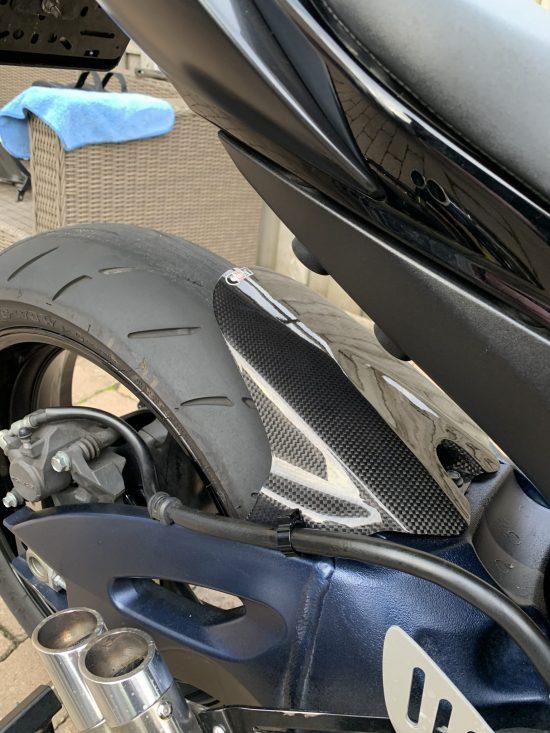 SUZUKI GSXR 600/750 2006-2010 Carbon Rear Hugger