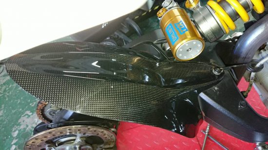 DUCATI Monster 796/1100 Carbon Fiber Rear Hugger