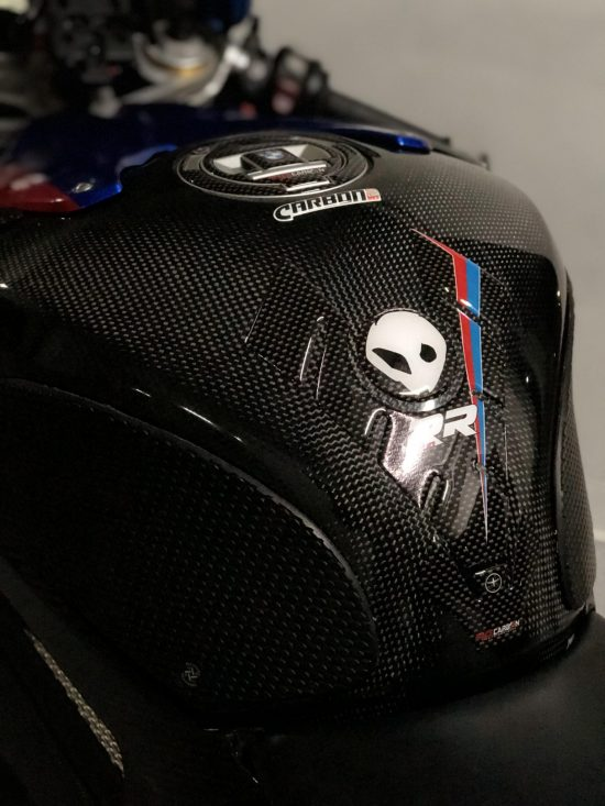 BMW S 1000RR Carbon Fiber Tank Cover