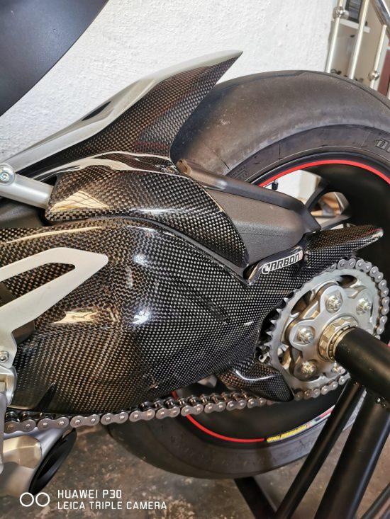 DUCATI 1199-1299 Panigale Carbon Fiber Rear Hugger