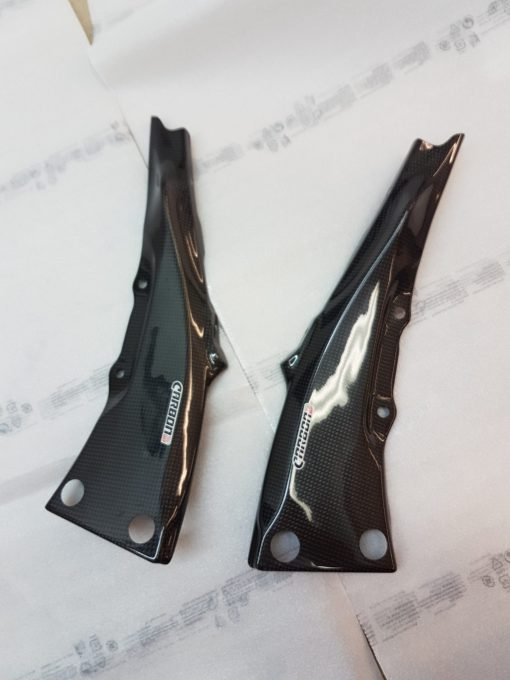KAWASAKI ZX-10R 2011-2018 Carbon Fiber Rear Subframe Covers 1