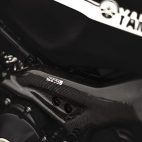 YAMAHA XSR 900 Carbon Fiber Frame Covers by Carbon2race