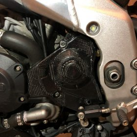 APRILIA RSV4 Carbon Fiber Sprocket Cover