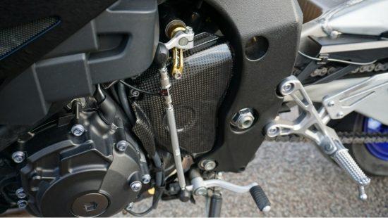 YAMAHA YZF-R1 Carbon Fiber Sprocket Cover