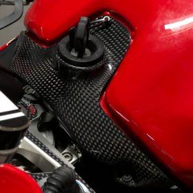 DUCATI 899/959 /1199/1299 Panigale Carbon Fiber Key Lock Cover