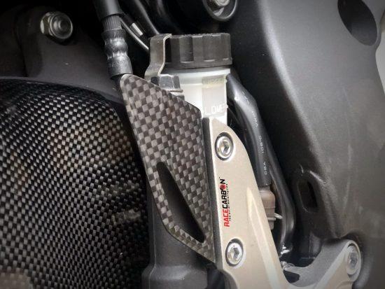 HONDA CBR 1000RR 2008-2019 Carbon Fiber Heel Plates