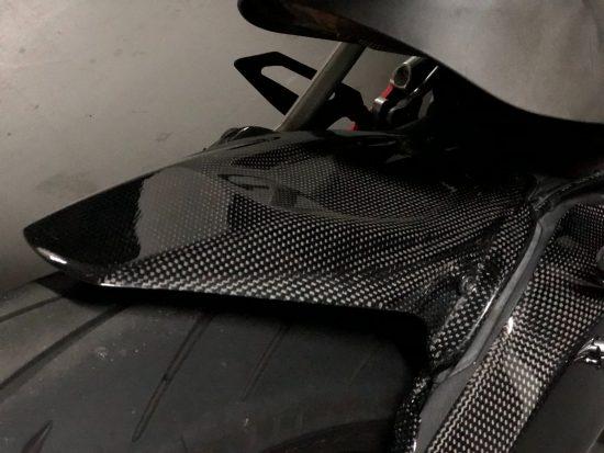 DUCATI 899/959 Panigale Carbon Fiber Rear Hugger