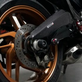 DUCATI 899/959 Panigale Carbon Fiber Swingarm Covers