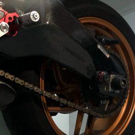 DUCATI 899/959 Panigale Carbon Fiber Swingarm Covers