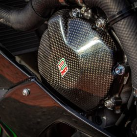 KAWASAKI ZX6R 2009-2020 Carbon Fiber Engine Covers