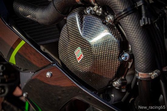 KAWASAKI ZX6R 2009-2020 Carbon Fiber Engine Covers