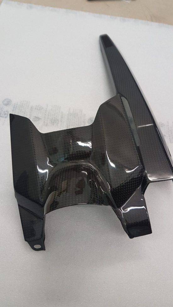 YANAHA MT-07 Carbon Fiber Rear Hugger