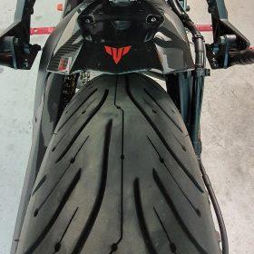 YAMAHA Tracer 900 Carbon Fiber Rear Hugger