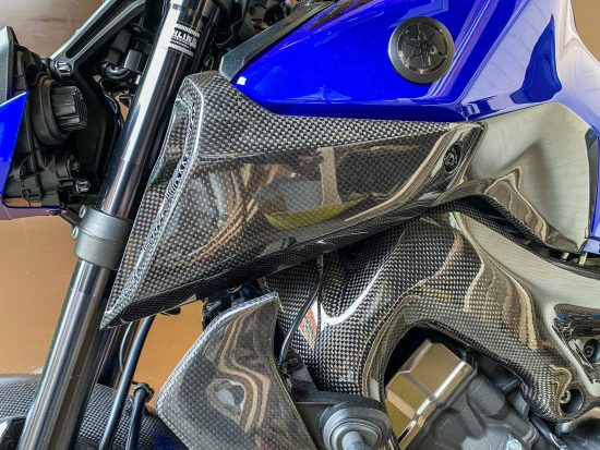 YAMAHA MT09 2017-2020 Carbon Fiber Air Intake Covers