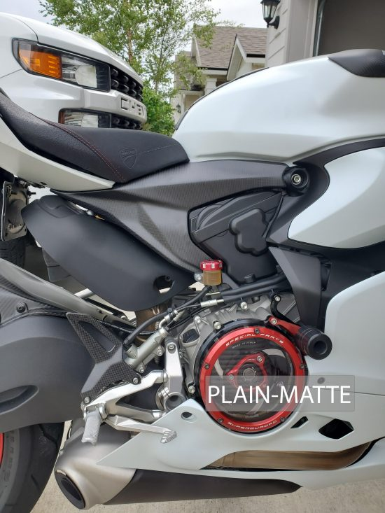DUCATI Panigale 899-959-V2 Carbon Fiber Frame Plates